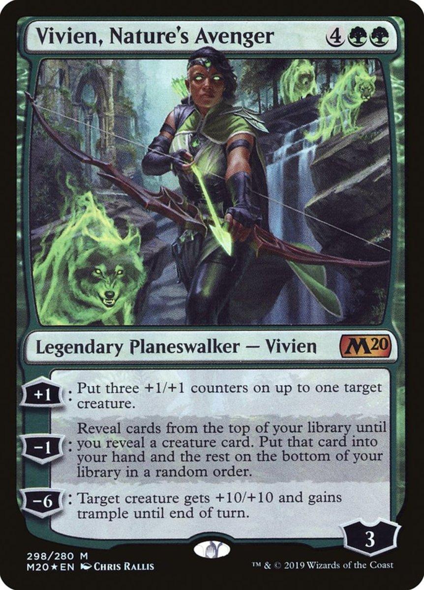 Vivien, Nature's Avenger mtg