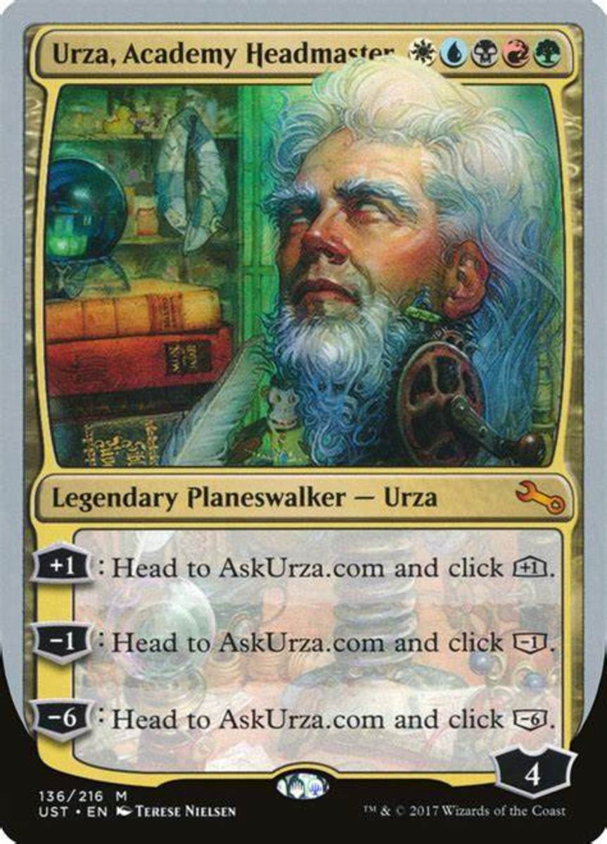 Urza's effects are randomly determined