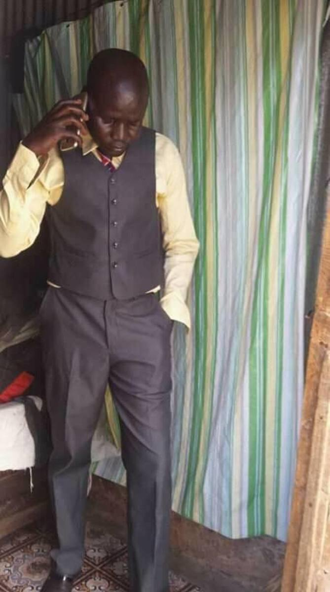 Pastor Chris Juma who is selling his kidney to buy church land