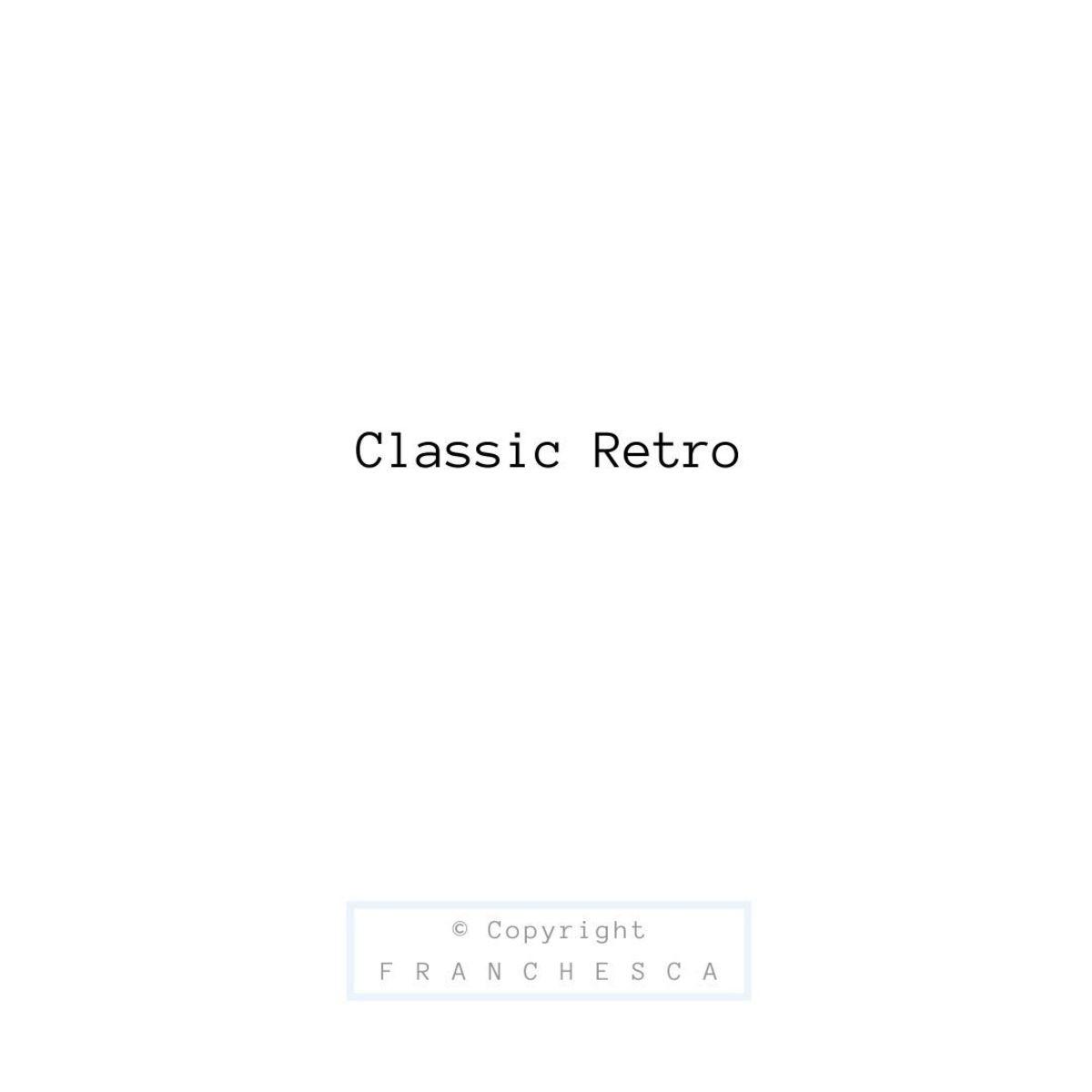 117th Article: Classic Retro