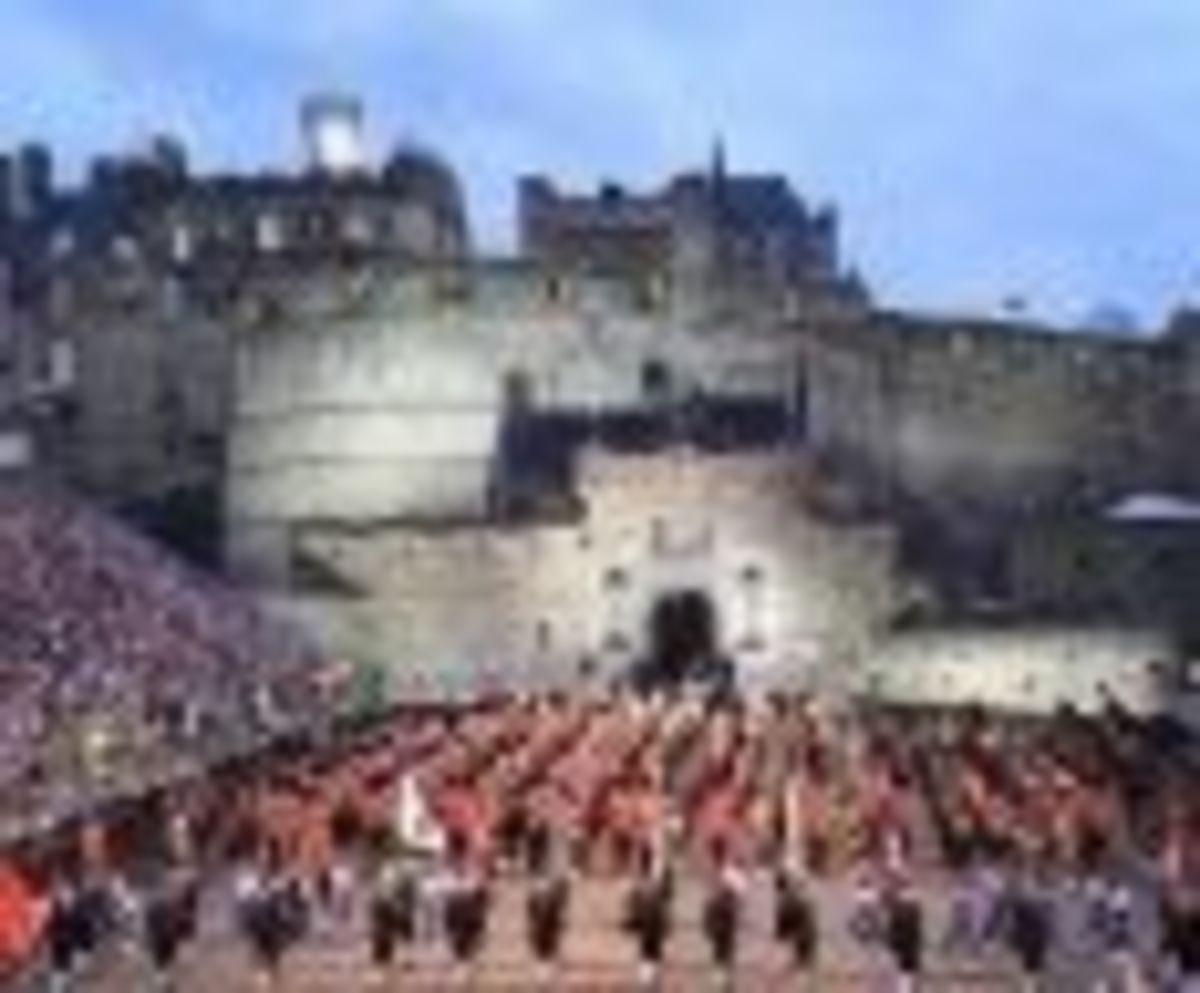 Celebration at Edinburgh Castle