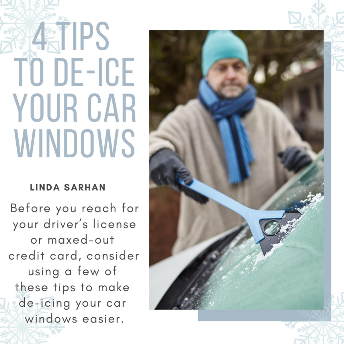 4 Tips to Help De-ice Your Car Windows