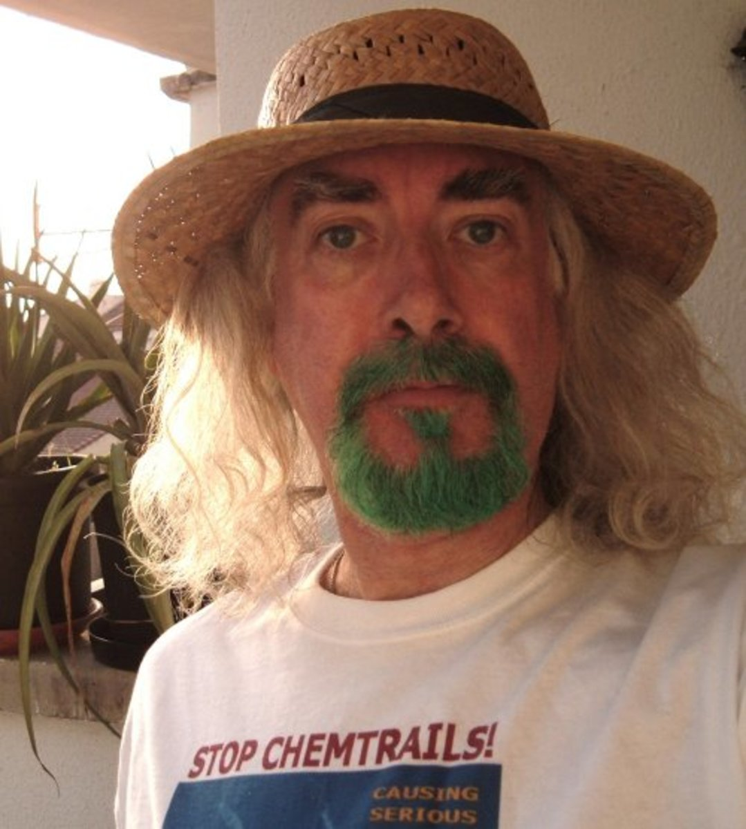 Bard of Ely's Stop Chemtrails Tshirt