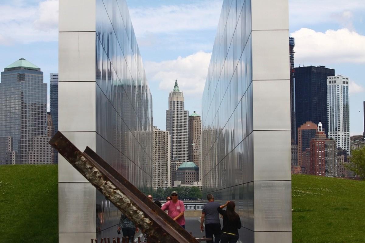 Liberty Memorial City New York 9-11 Park.