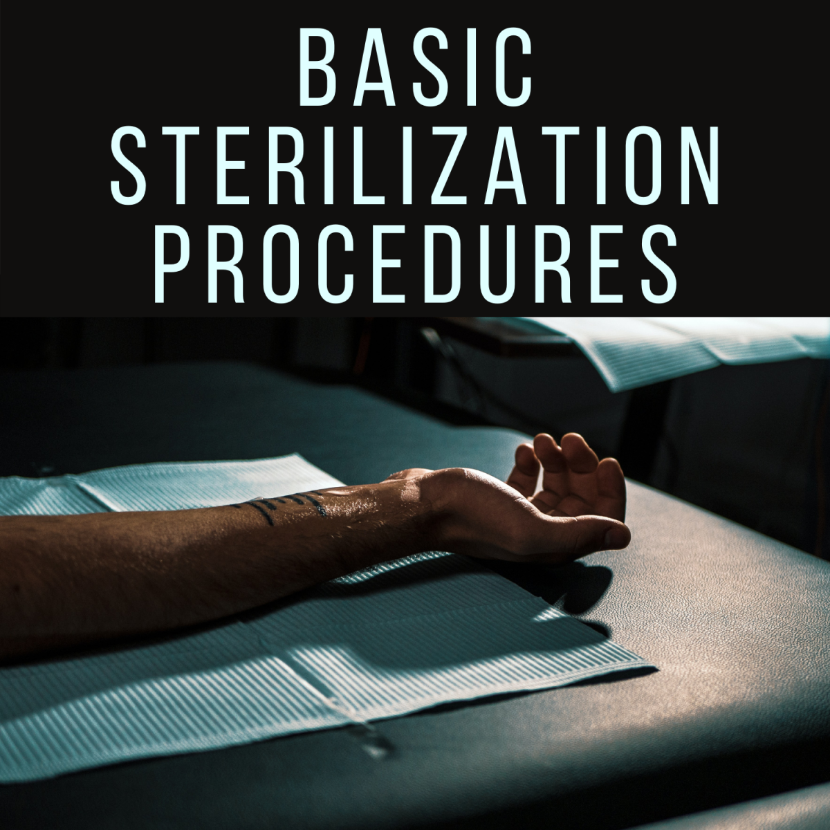 Learn about the methods of sterilization and how to clean your tattooing equipment.