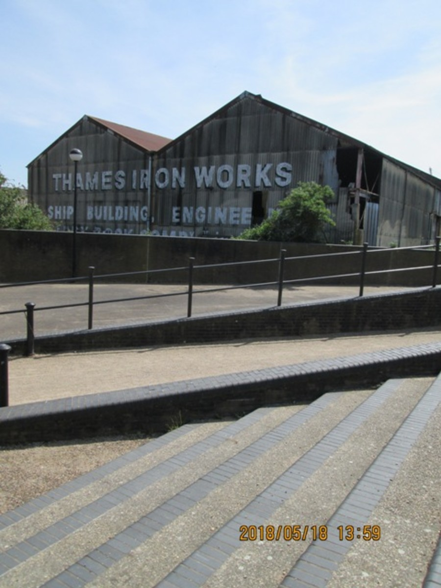 Thames Ironworks - ever heard of them? Does 'Irons' ring a bell? How about 'Hammers' then? Close. This was where West Ham United started out as a works team. The 'Hammers' link was in riveting, a skill superseded by welding. A false economy