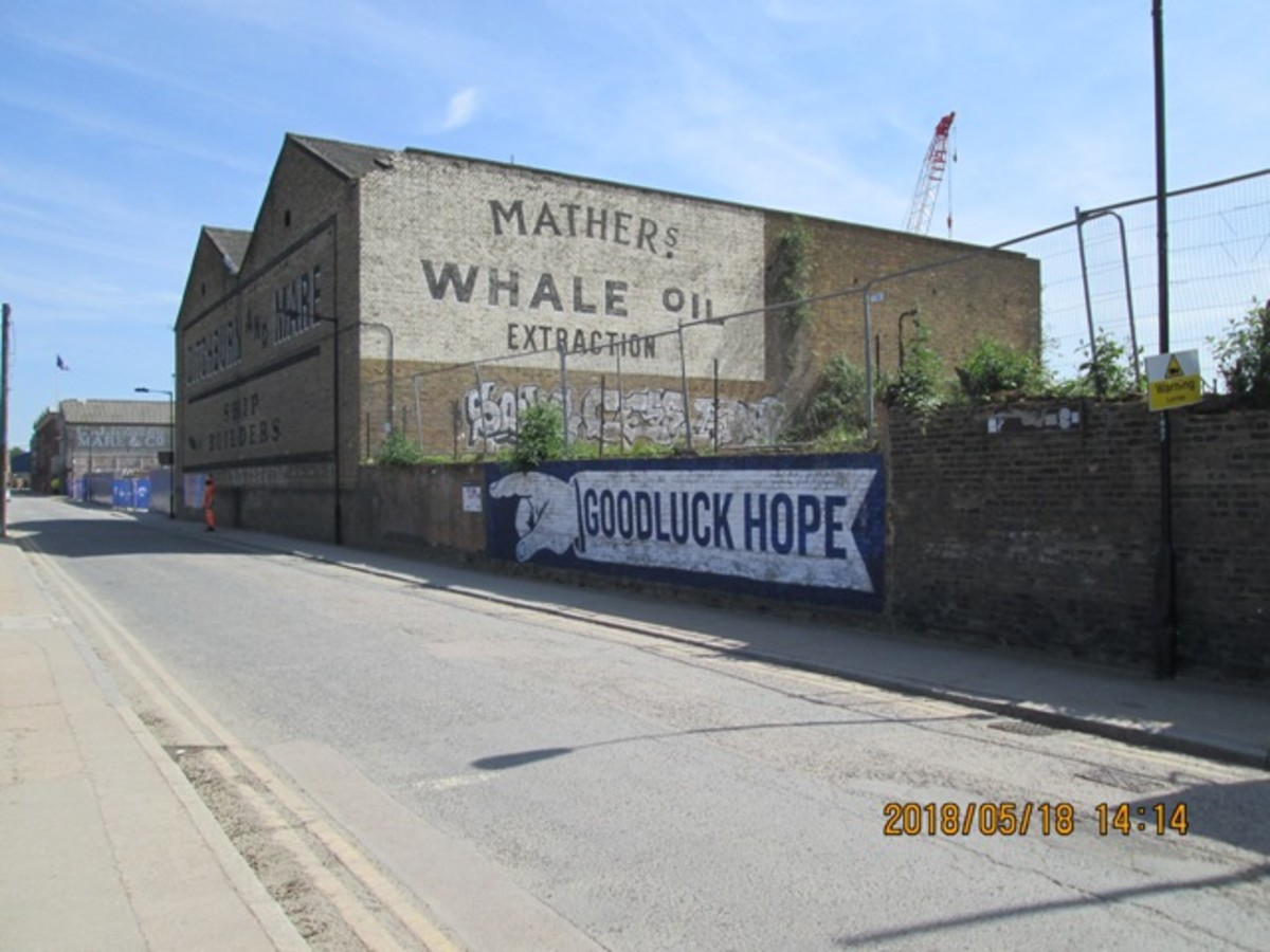 The 'other' industry - whale oil production. A descendant of the shadowy James Mather carried on the family business and now...