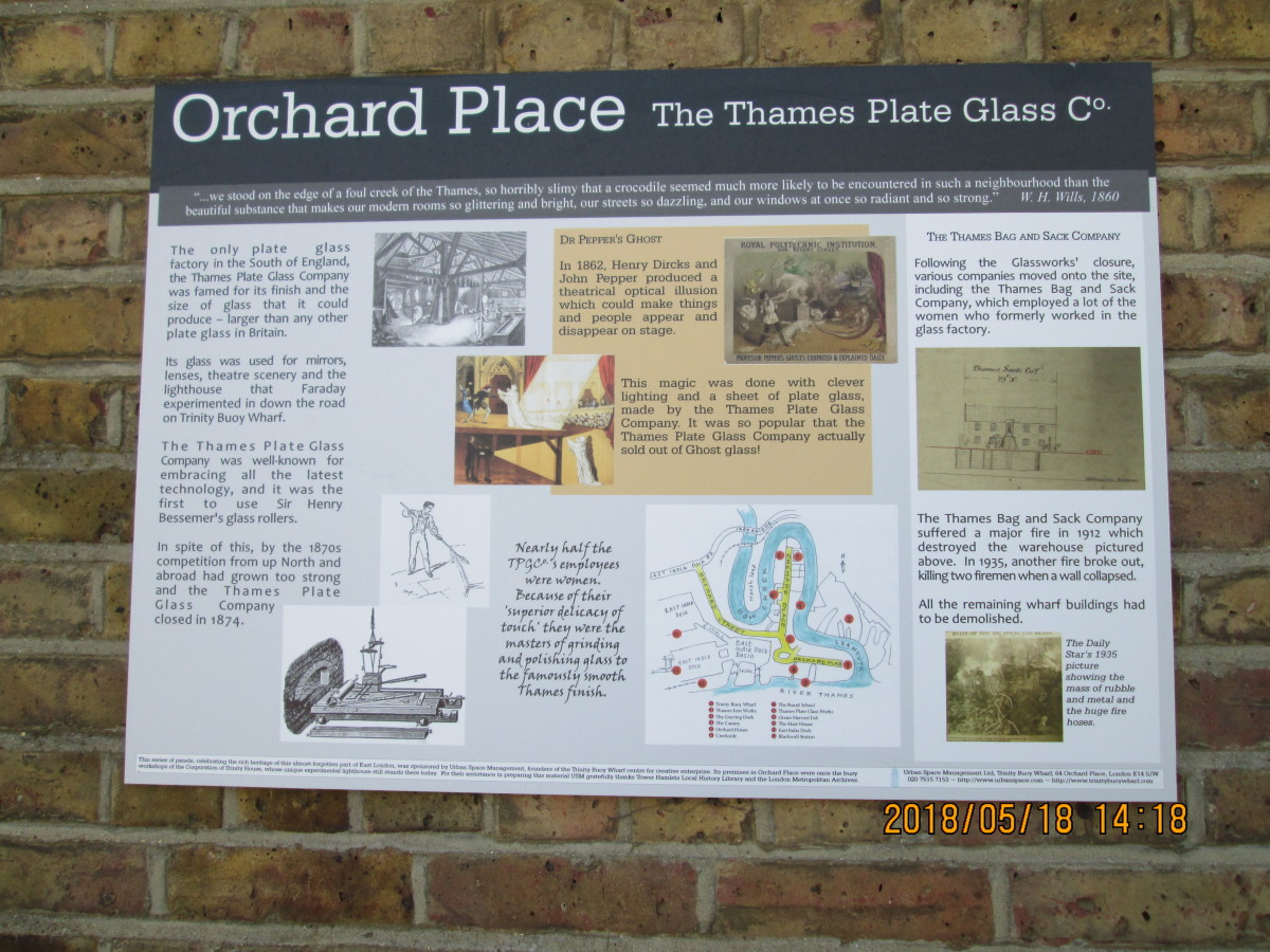 The Thames Plate Glass Company...