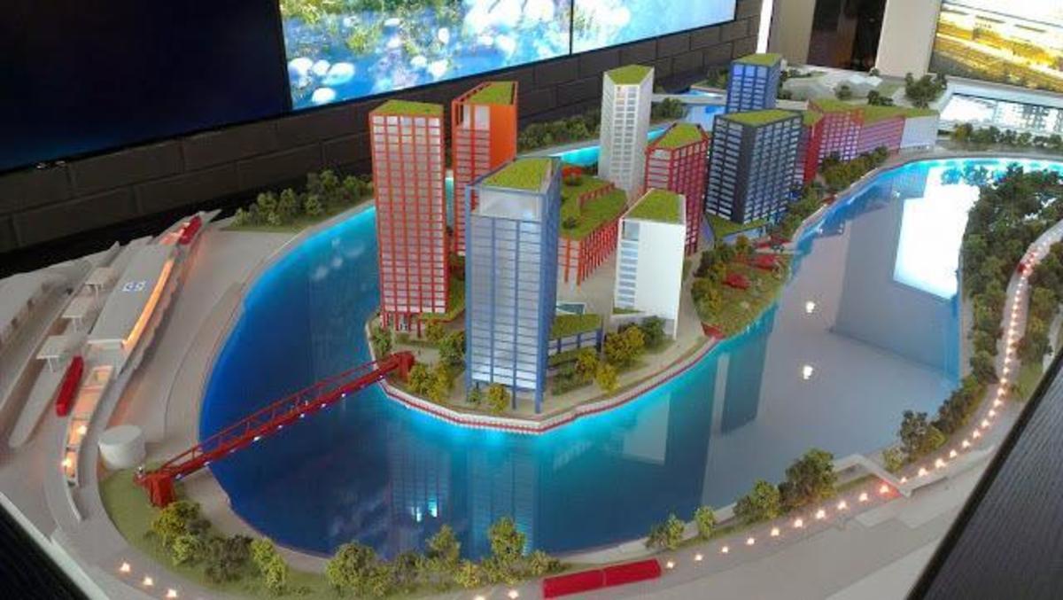 London City Island development - a look ahead to a new era