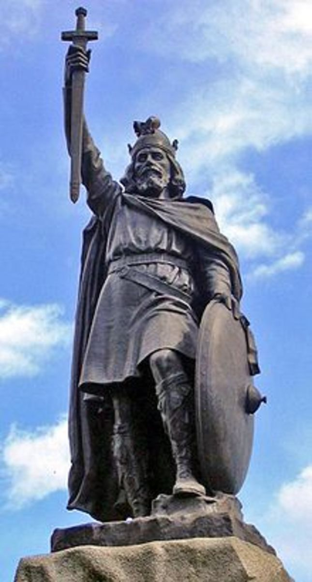 King Alfred the Great, (Reign 871-899)