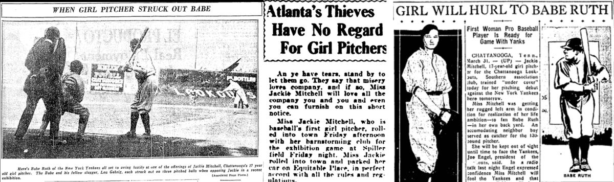 Jackie Mitchell Headlines
