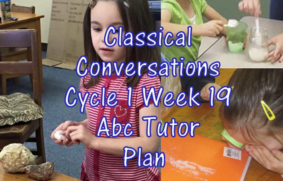Classical Conversations Cycle 1 Week 19 Abc Tutor Plan