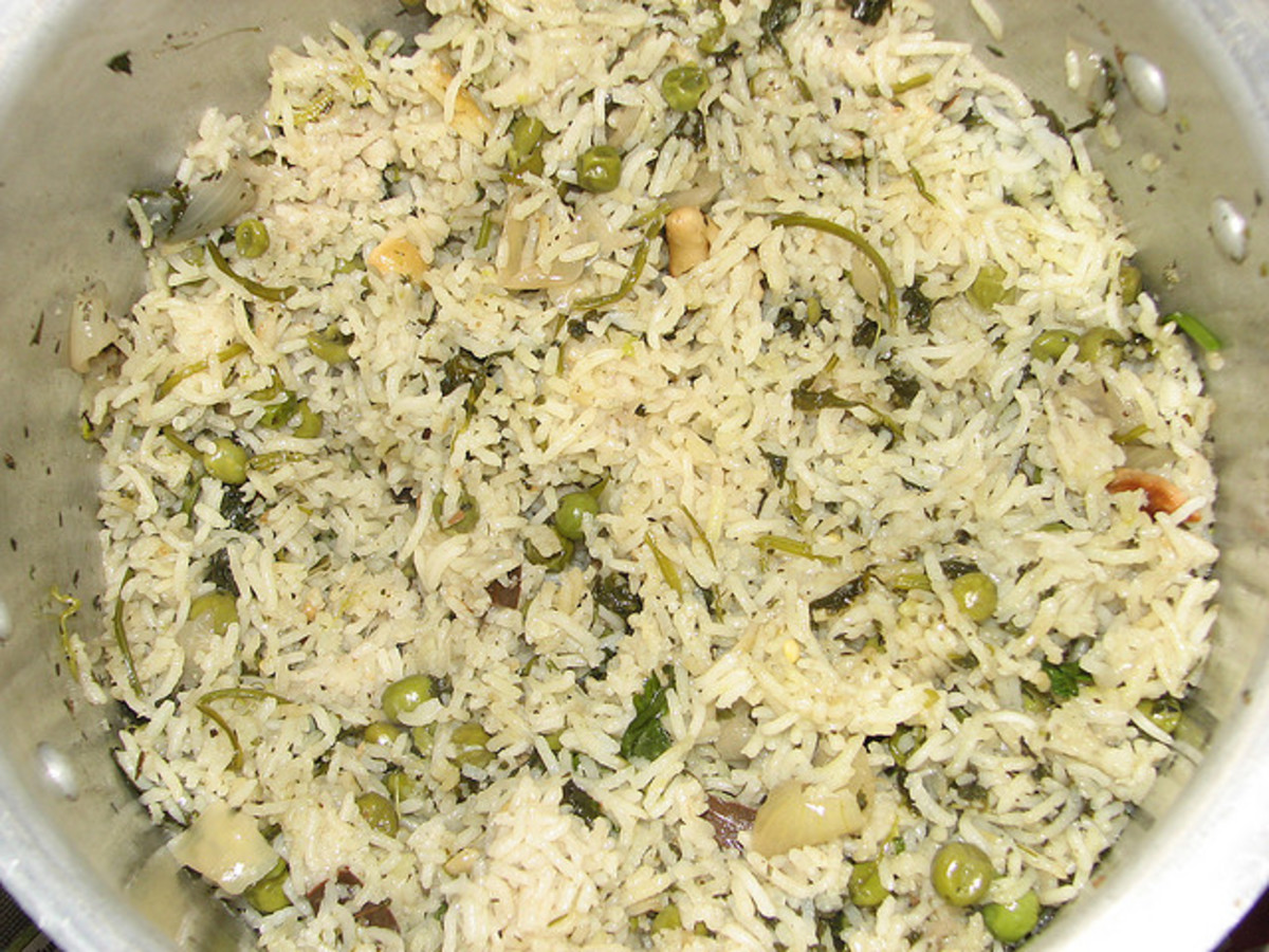 You can make many flavorful rice recipes using ghee