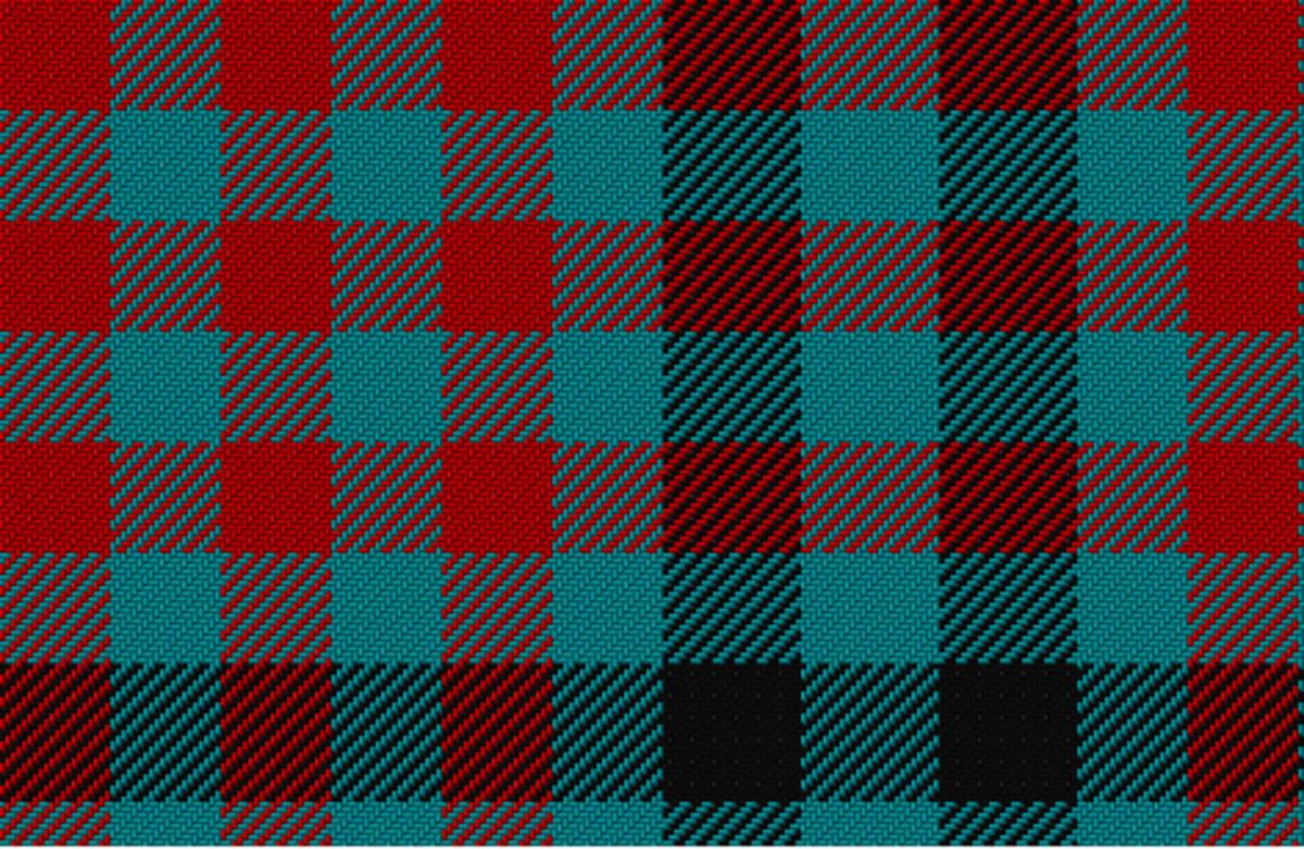 I created this tartan pattern in just a few seconds.