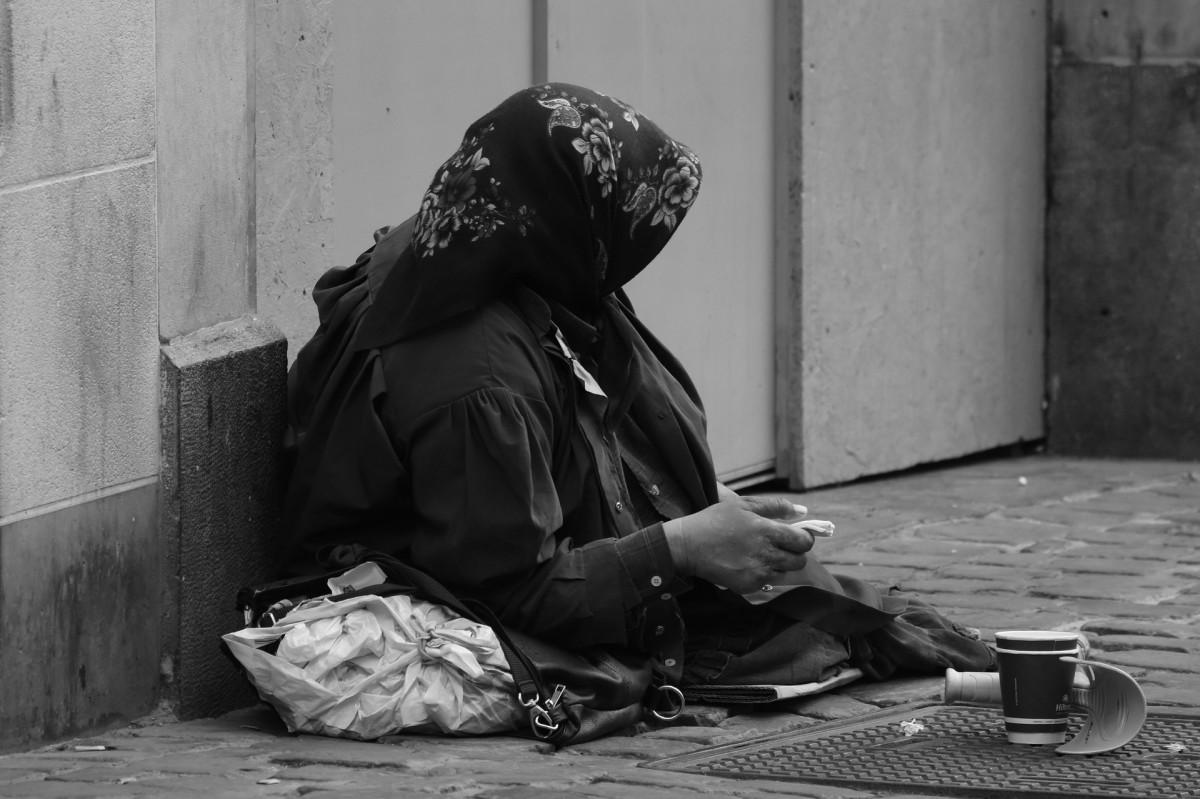 Beggars everywhere?