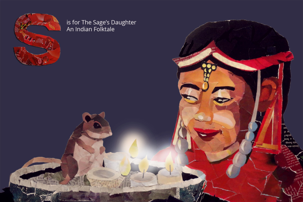S is for the Sage's Daughter, a Folk Tale from India