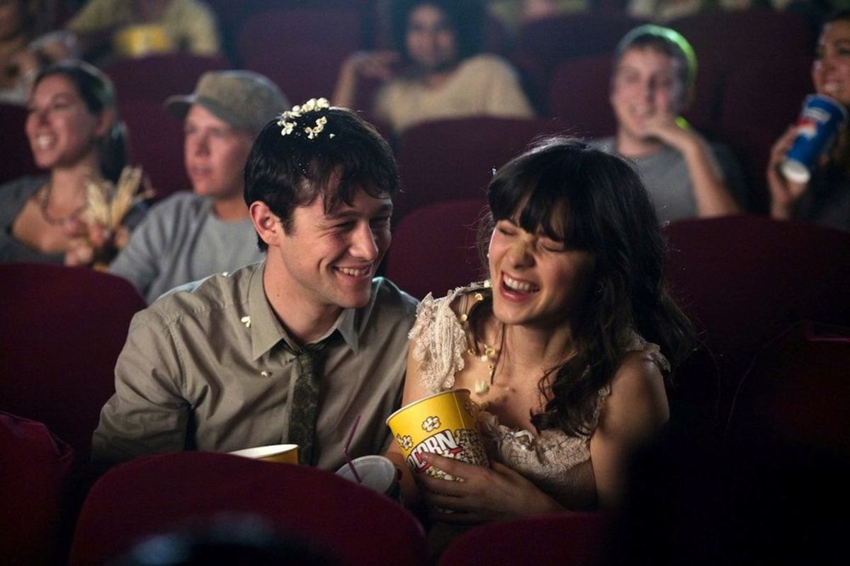 Tom and Summer in the movie-time