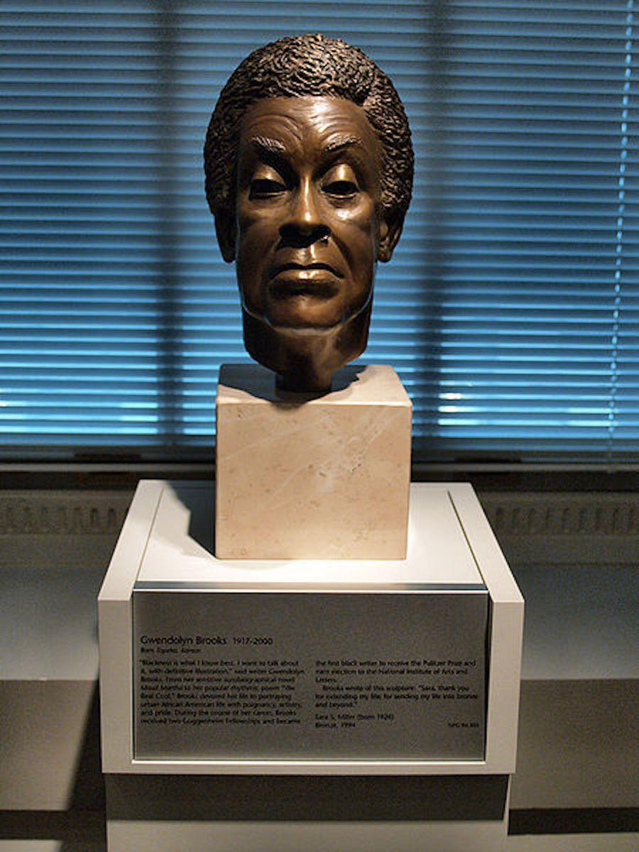 Bust of Gwendolyn Brooks, 1994