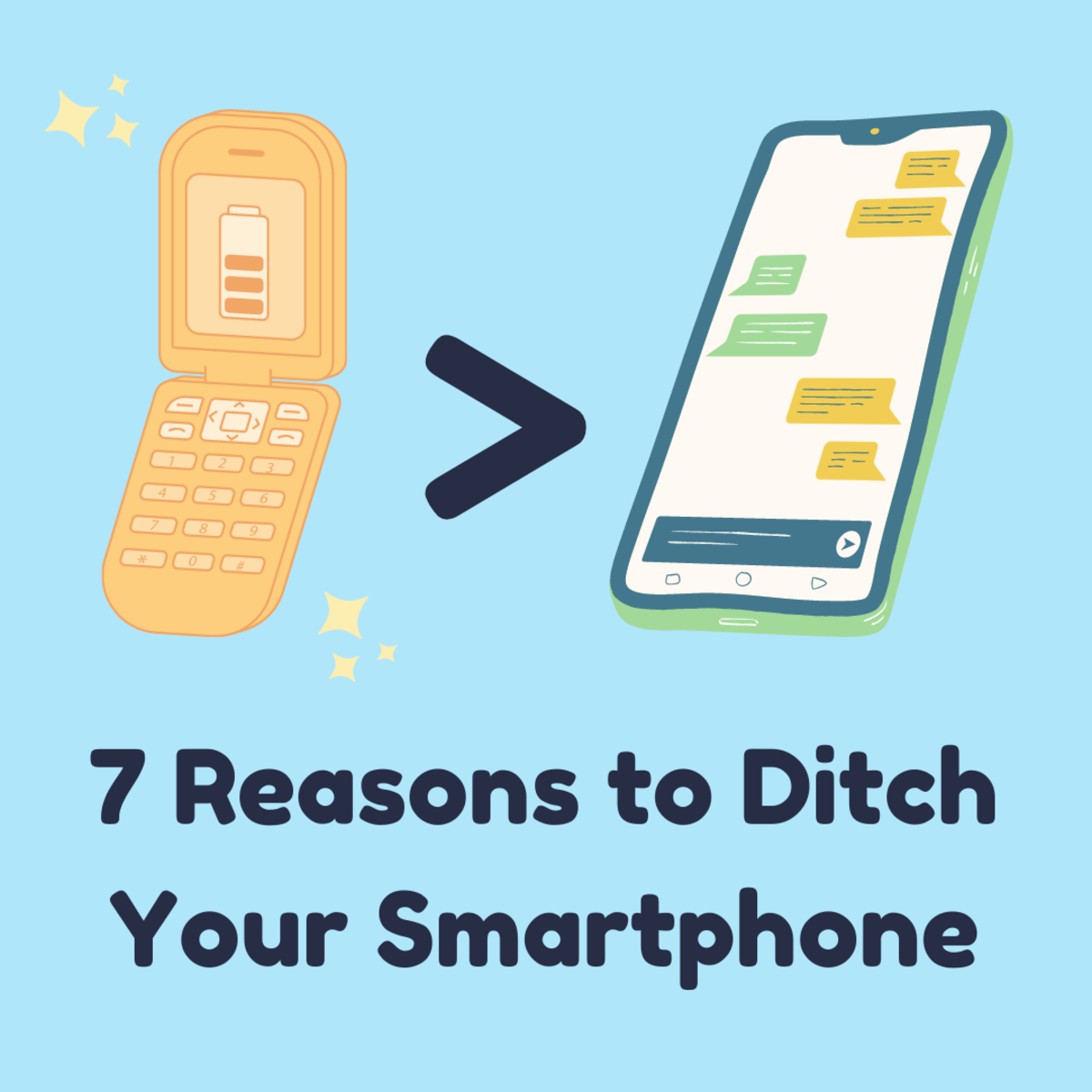 """Smartphones aren't all they're cracked up to be. Here are a few reasons """"dumb"""" phones beat out their """"smart"""" competitors."""