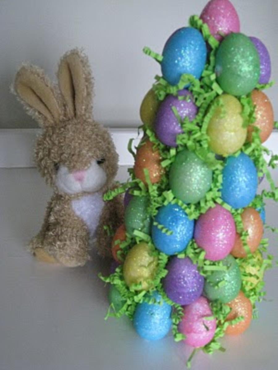 Easter Egg Tree Decoration Craft