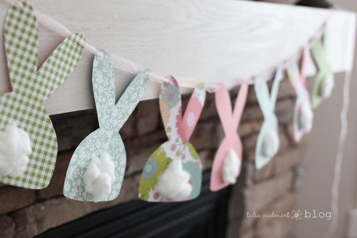 Easter Bunny Bunting DIY