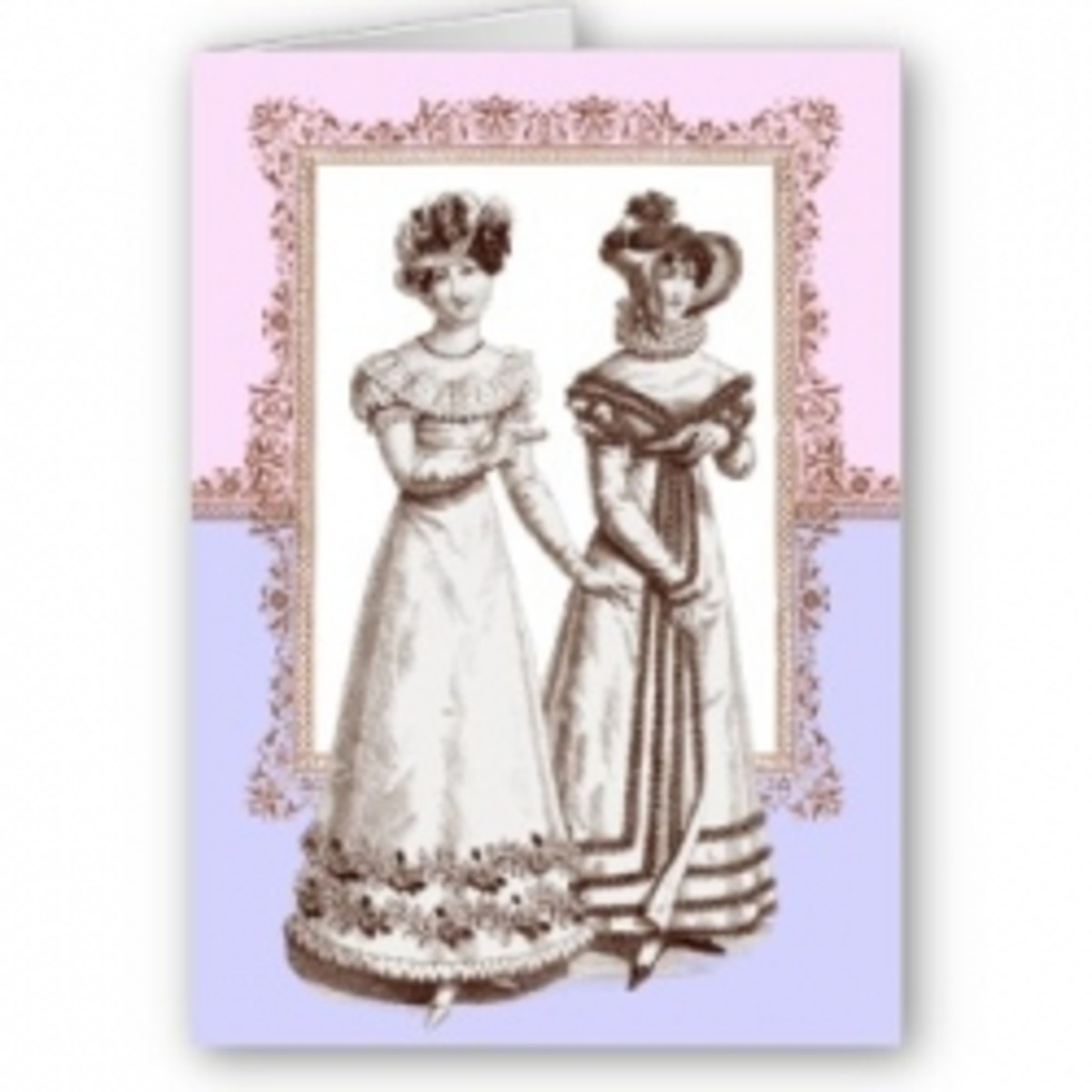 The delightful clothing from the Regency era.