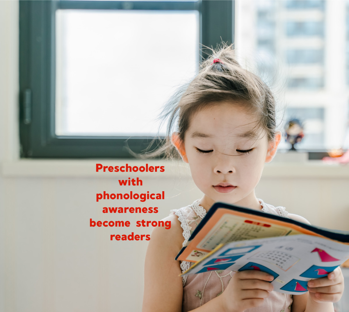 Research shows that children who can detect the individual sounds in words are more likely to become competent readers, writers, and spellers.