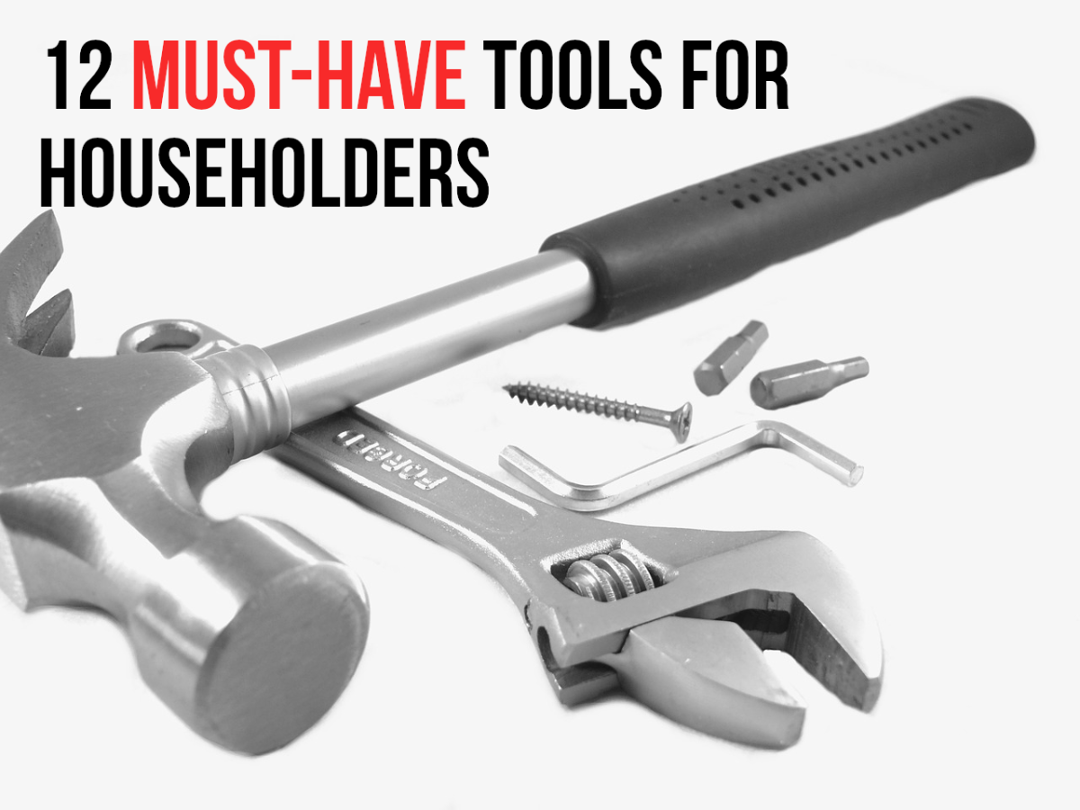 12 Essential Tools That Every Homeowner Should Have
