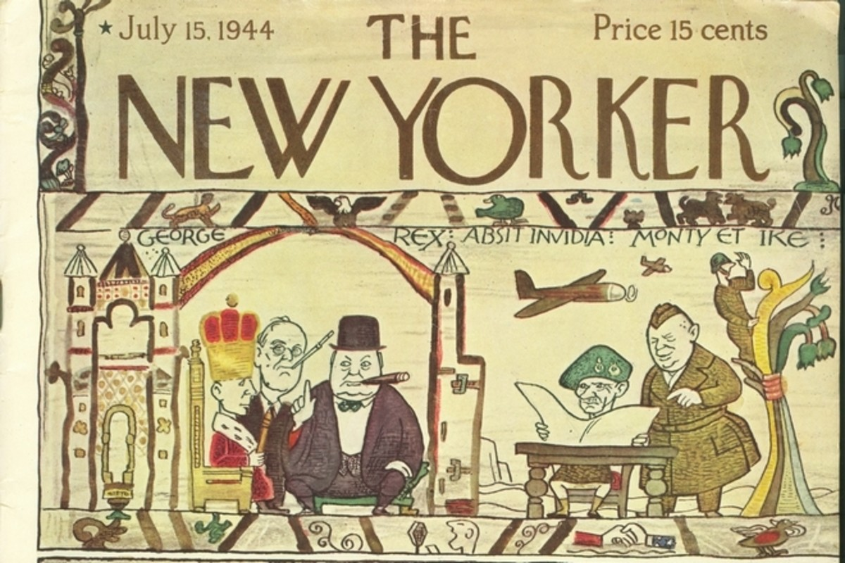 The New Yorker Magazine 1944 and Article of the Bayeux Tapestry