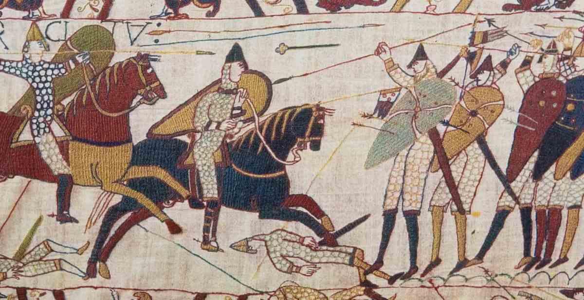 Battle Scene of Hastings