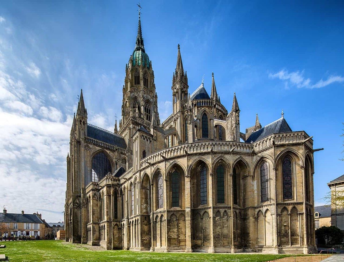The Bayeux Cathedral Built to House the Bayeux Tapestry