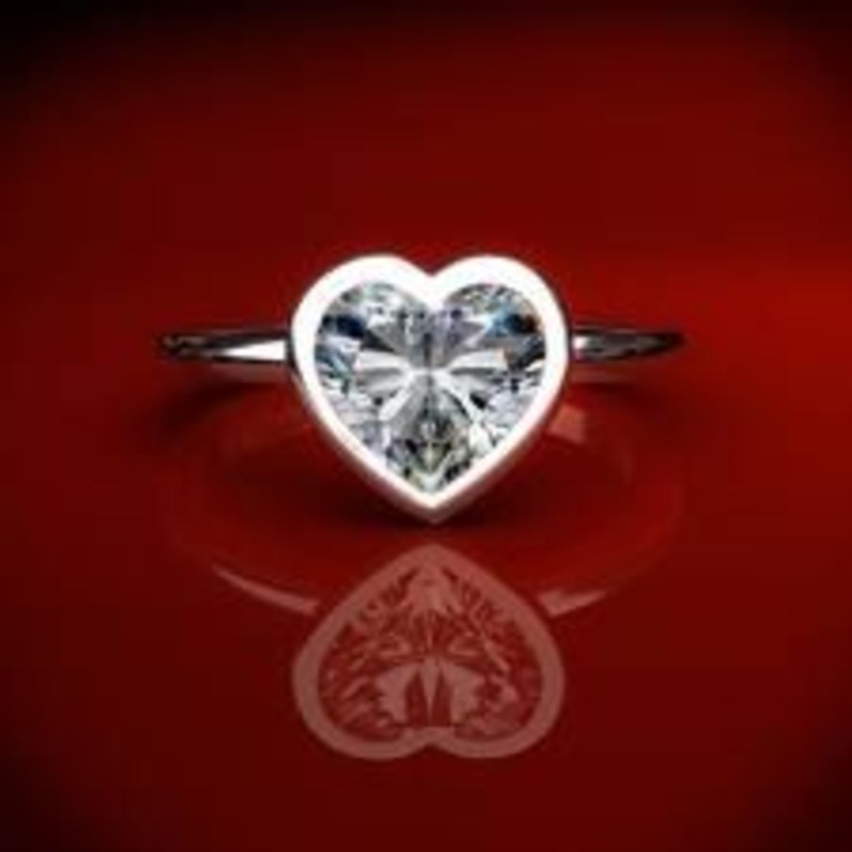 heart shaped bezel setting james allen