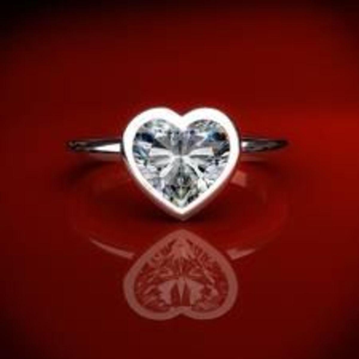 heart shaped bezel setting james allen