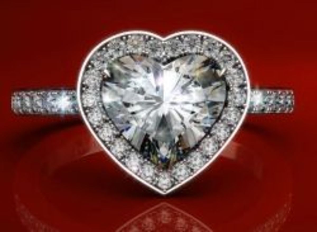 James Allen heart halo engagement ring