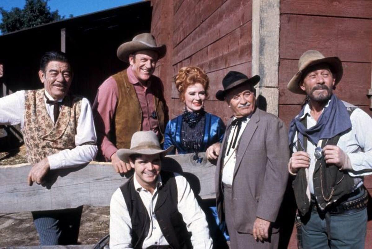 In 1968, Gunsmoke was a popular television show.