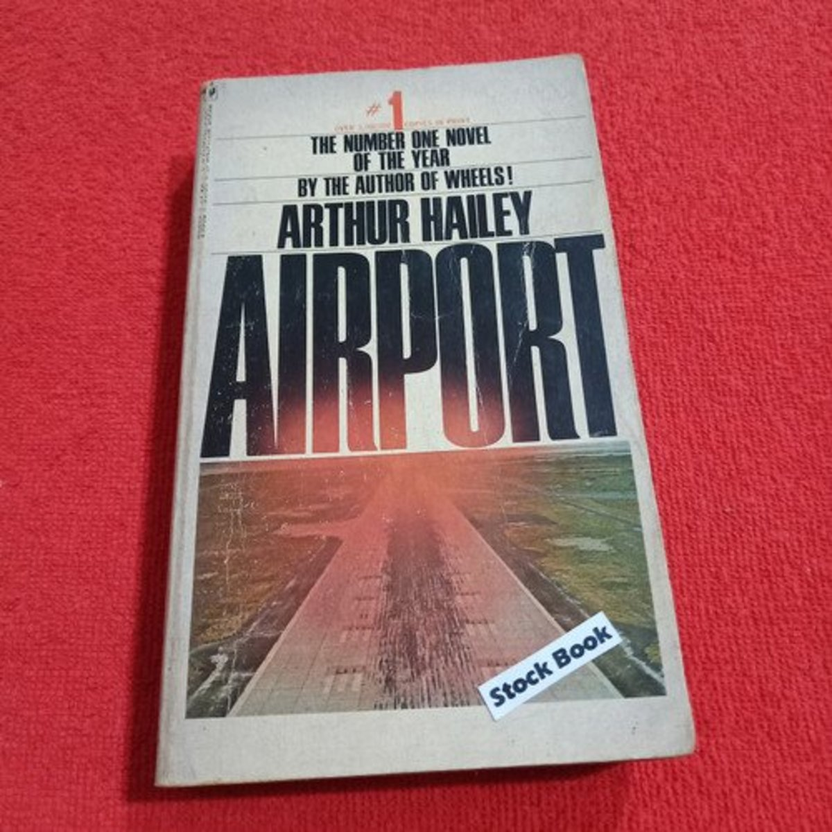 In 1968, Arthur Hailey's cliff-hanging suspense novel—Airport—was the best-selling fiction book.