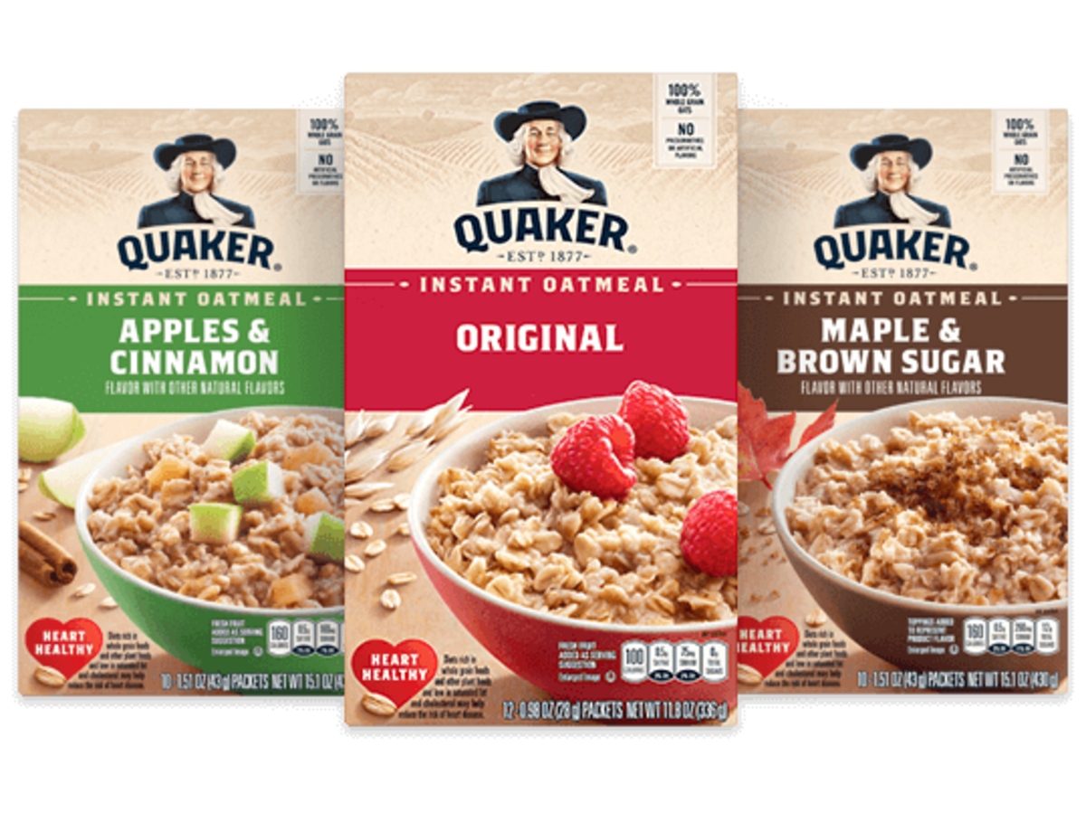 In 1968, Quaker Oats instant oatmeal was all the rage.