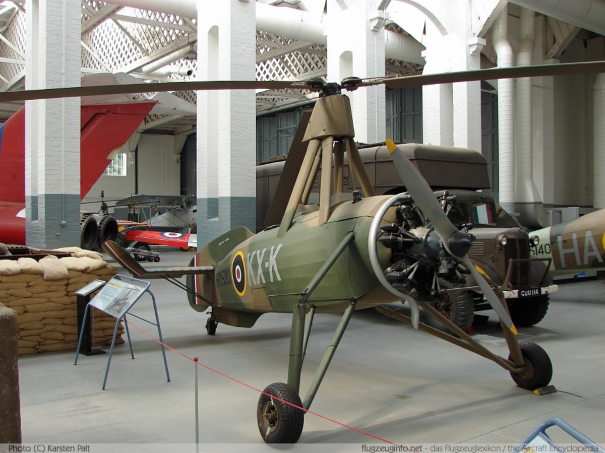 CIERVA C-30 AUTOGIRO