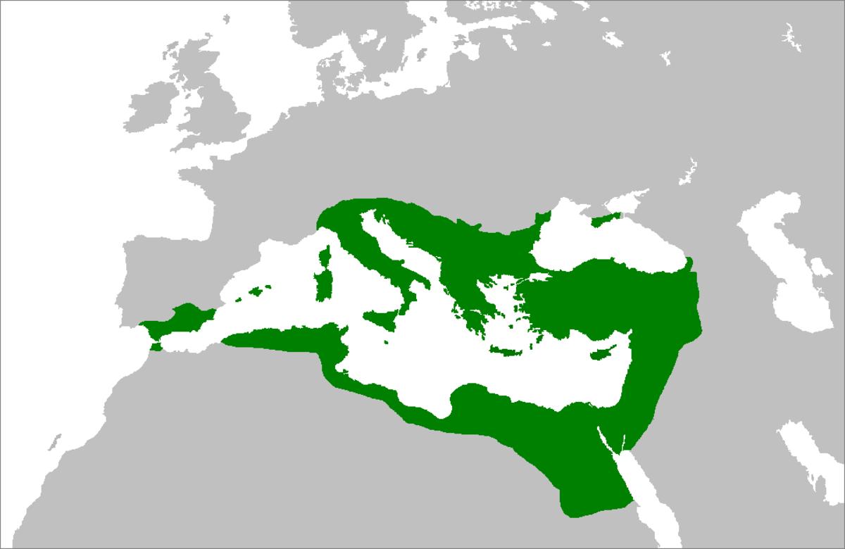 CHRISTIAN BYZANTIUM 550 AD