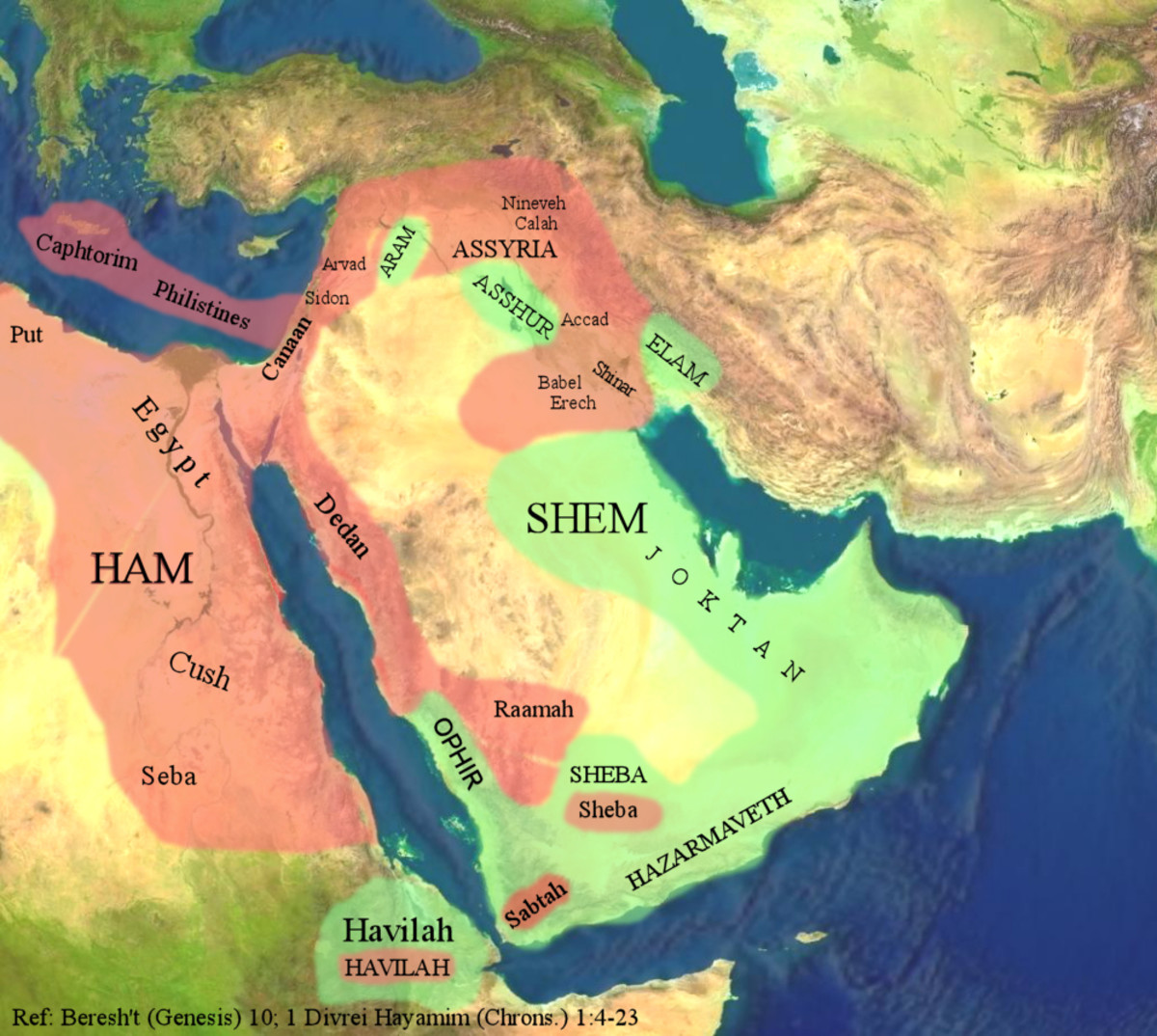 MAP OF MIDDLE EAST WHEN ISRAEL WAS FOUNDED