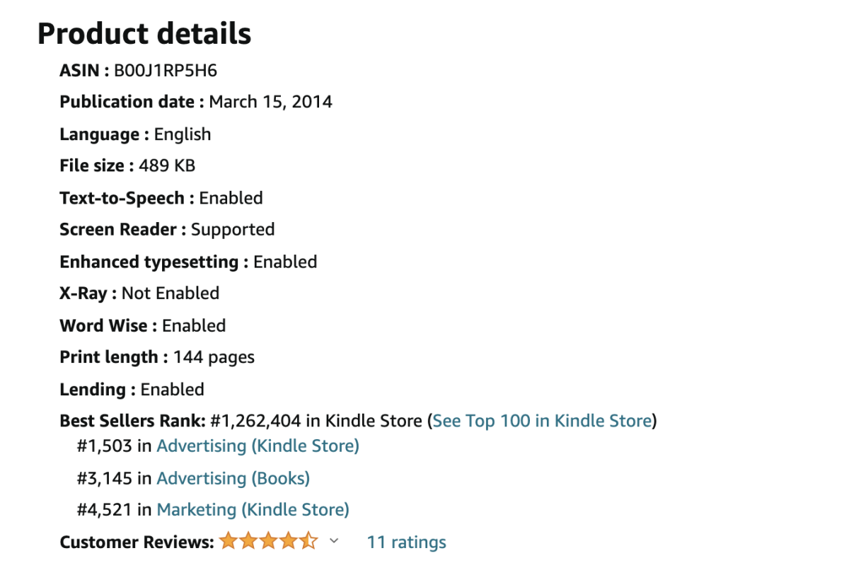 Your Amazon Best Seller Rank for categories is shown on your book's product page on Amazon.