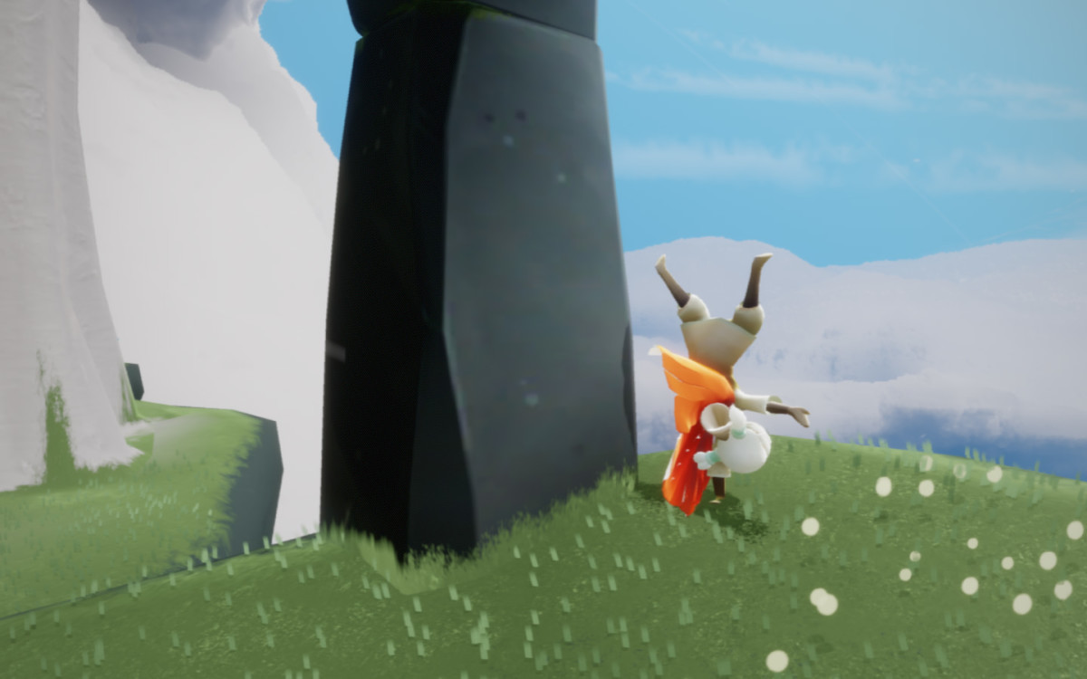 My character does a handstand.