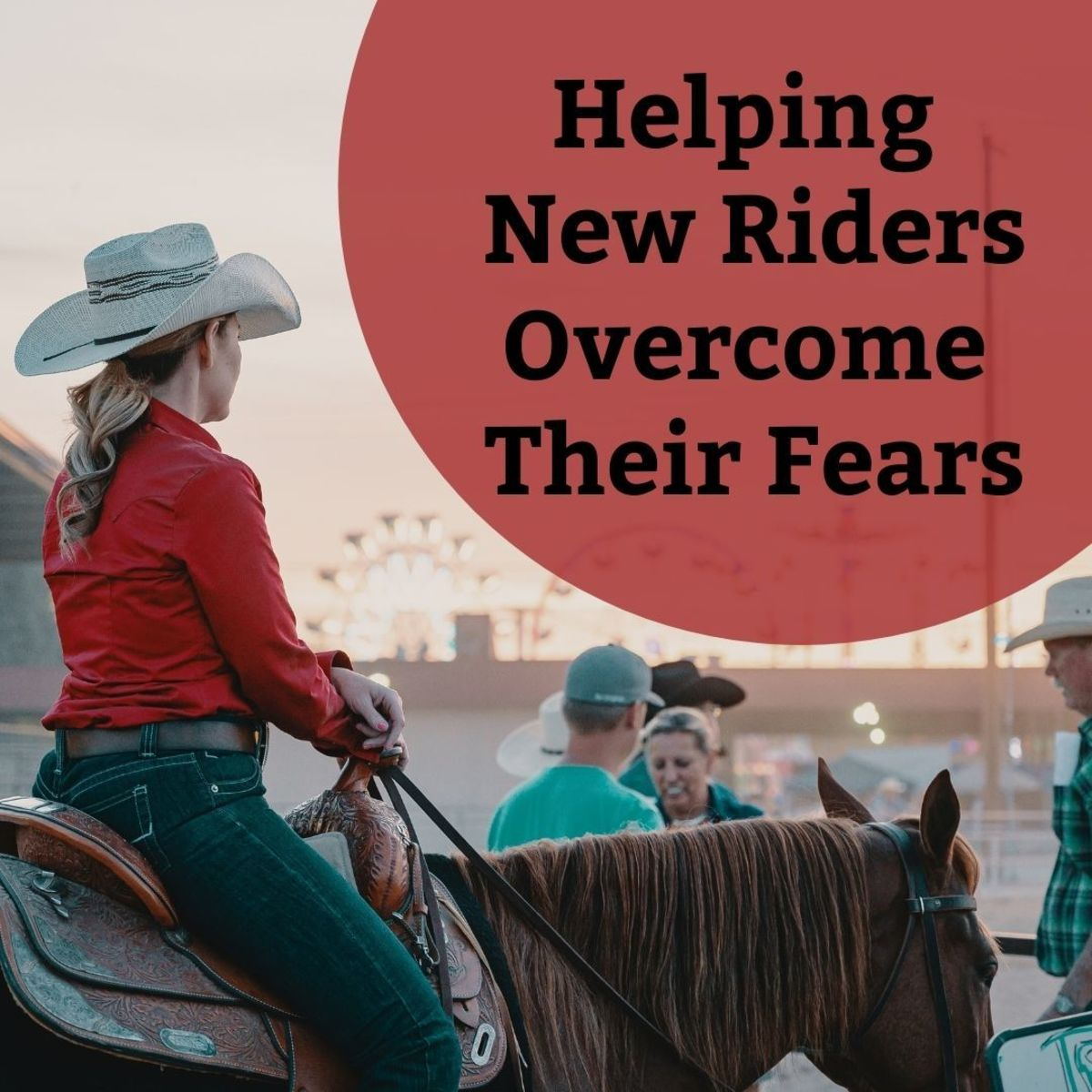 Useful advice for riding instructors on how to help new riders overcome their fears