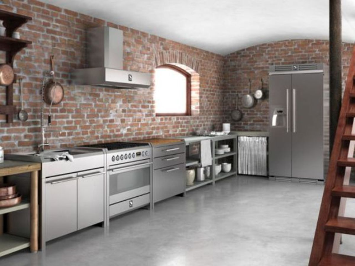 A country style kitchen befits the Chinese Zodiac Rooster. They love a mix of bricks and metal. They're not a fan of wood features. They also like the colors gold, yellow, and brown.