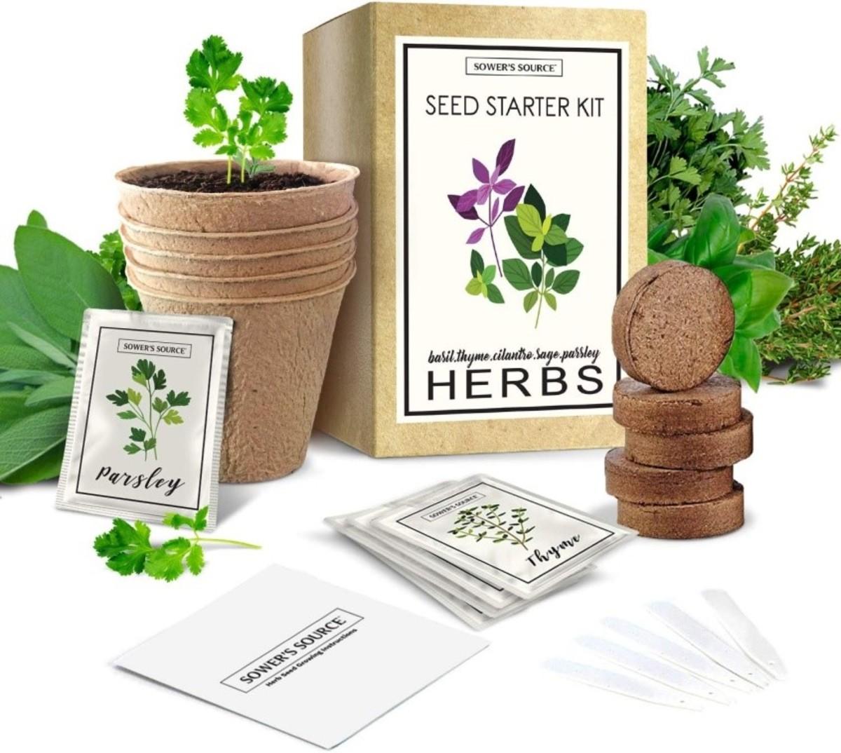 Indoor Herb Gardener Starter Kit