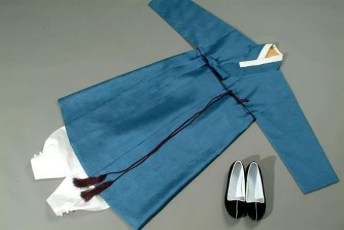 A typical Men's hanbok