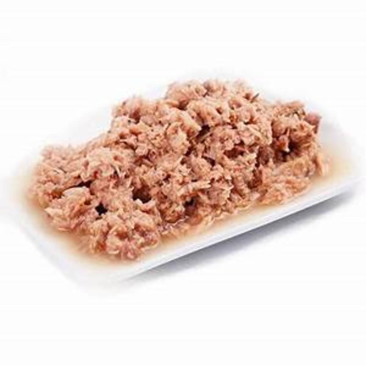 shredded tuna fish