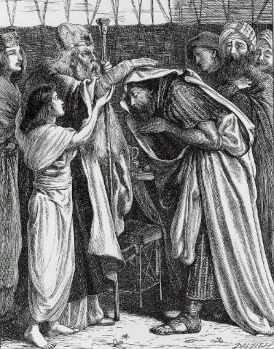 The Blessing of Abraham by Melchizedek