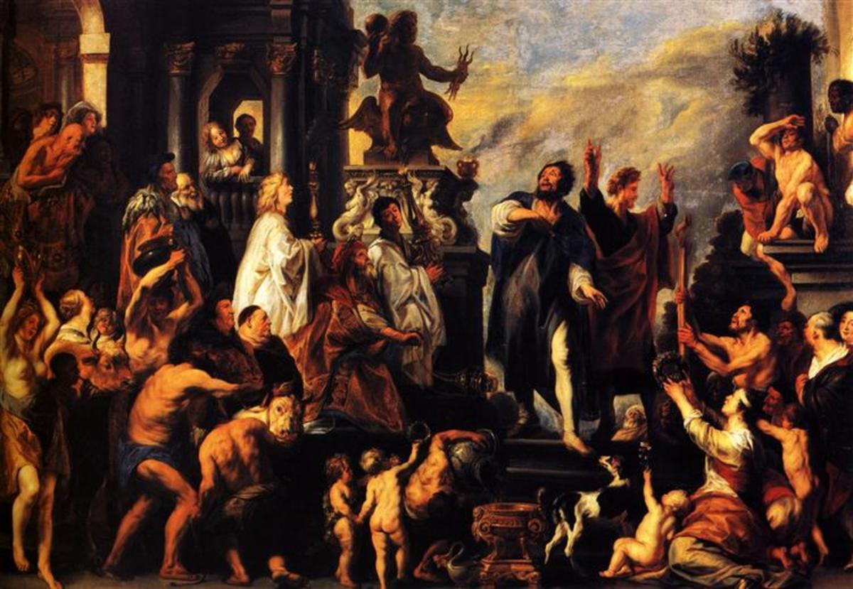 The Apostles, St. Paul and St. Barnabas at Lystra by Jacob Jordaens