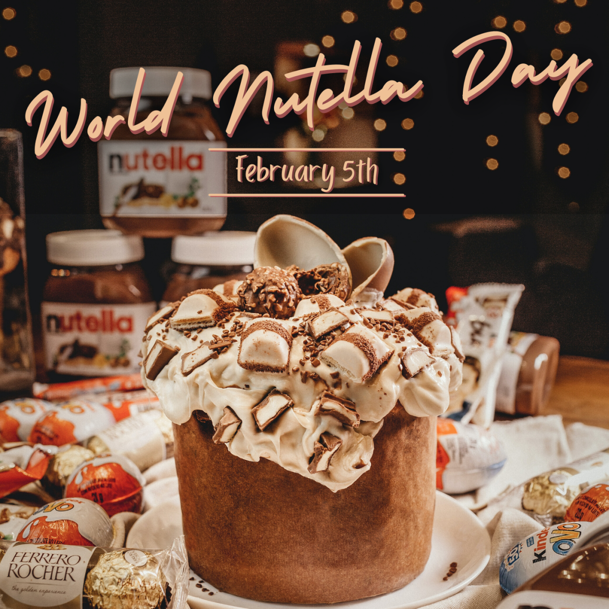 February 5th is World Nutella Day. How will you celebrate?